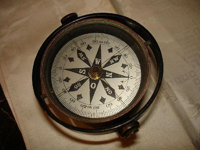 Старинный морской компас