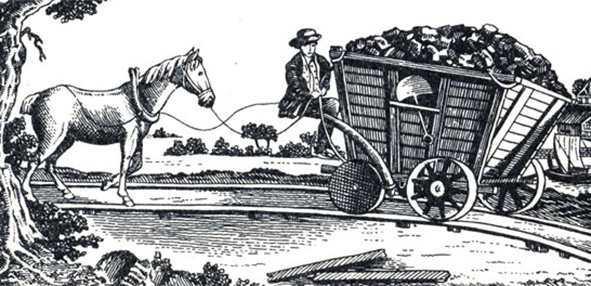 конная рельсовая дорога в Ньюкестле