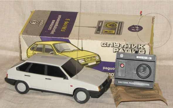 История радиоуправляемых автомобилей