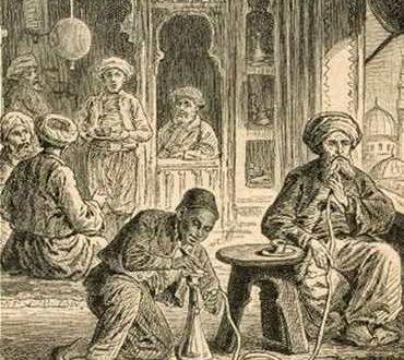 История происхождения и развития кальяна