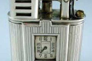 Зажигалка-часы фирмы Dunhill