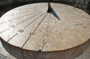 Кто изобрел солнечные часы. Принцип работы
