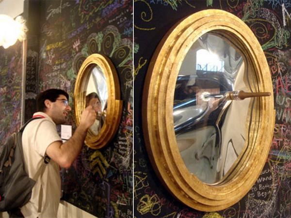 появление зеркал