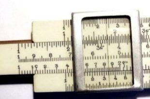 Кто изобрел логарифмическую линейку. История линейки