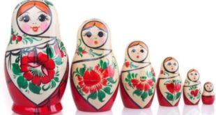 История матрёшки в России. Первая русская матрешка