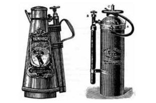 Кто изобрел первый огнетушитель в России