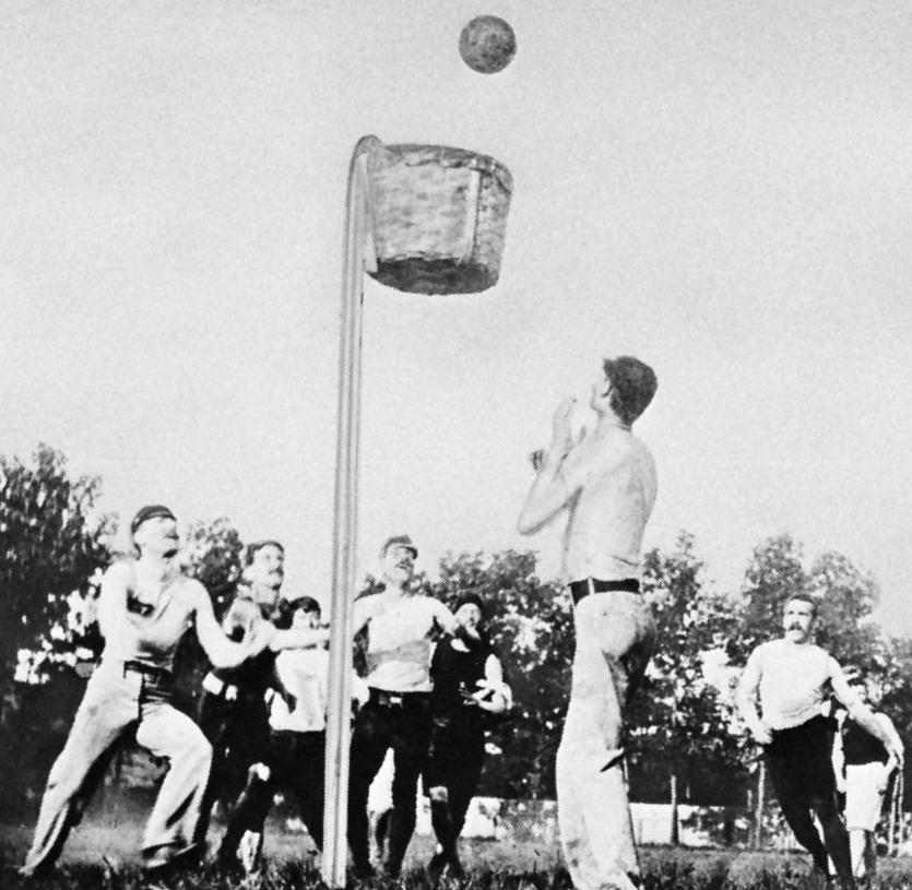 Баскетбол история