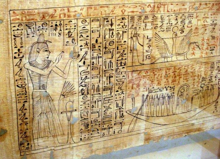 как делали папирус в древнем египте