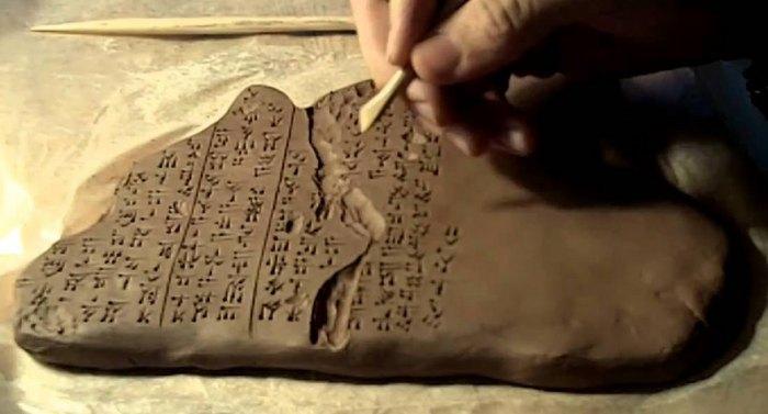 глиняные таблички для письма где появились