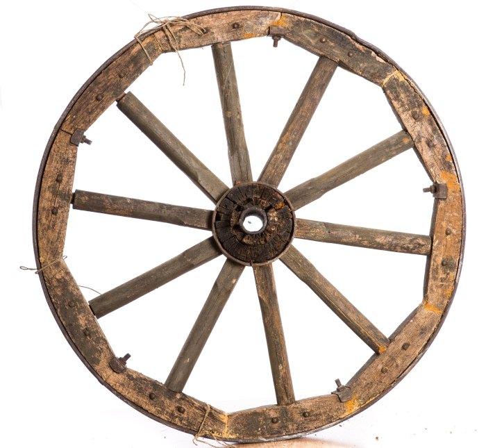 где появилось колесо