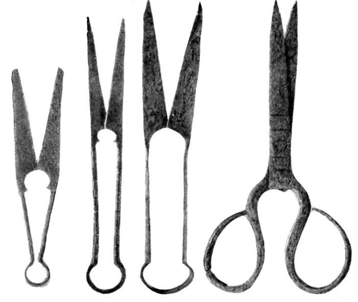 когда изобрели ножницы