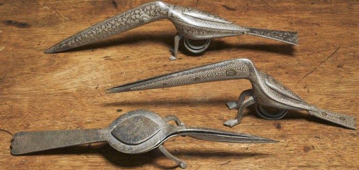 старинные ножницы