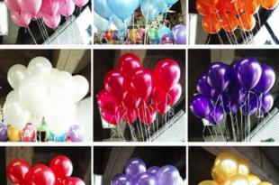 виды воздушных шариков